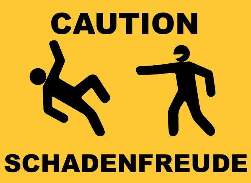 :schadenfreude: